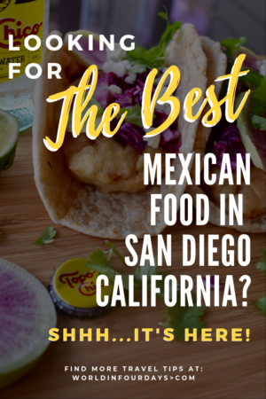 Worked up an appetite in San Diego and searching for the best Mexican food In San Diego? Well, your search is over because this is it. We've tasted our share of tacos and this is our pick for the best place to grab Mexican food north of the border!