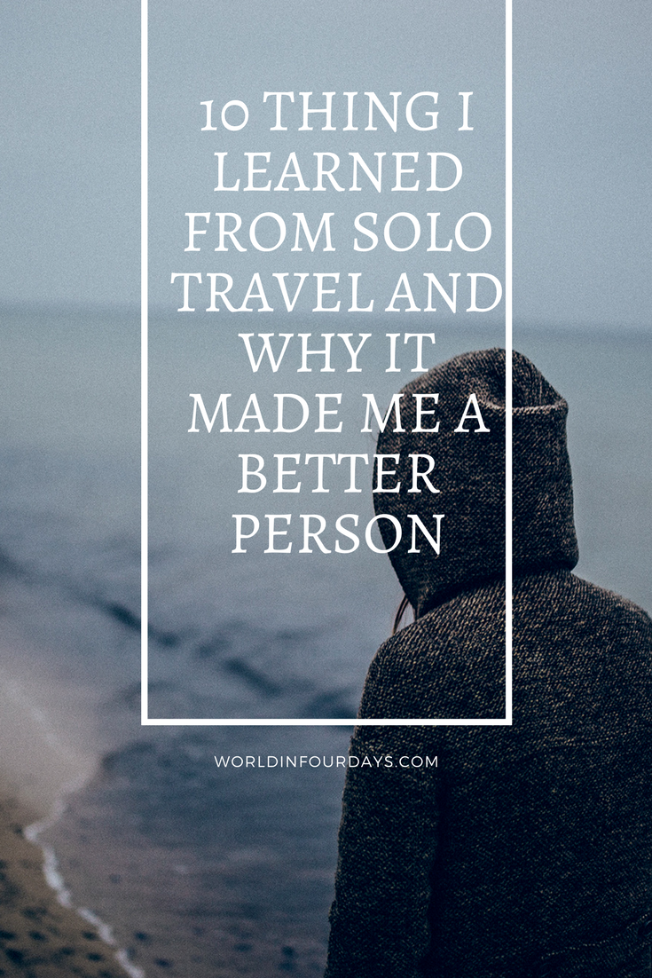 After 100 solo trips this is what I learned that's made me a better single parent traveler. Family Travel | Solo Travel | Single Parent Travel | Travel | lone traveller