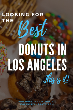 Heading to Los Angeles and love donuts? Here is our pick for hands down, the Best Donuts in Los Angeles! Watch as we show you around and tell you exactly what to order. No self-respecting donut lover would miss out on this one.