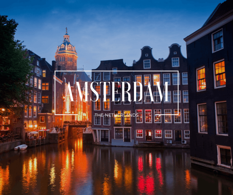 Amsterdam Canals at night thumbnail