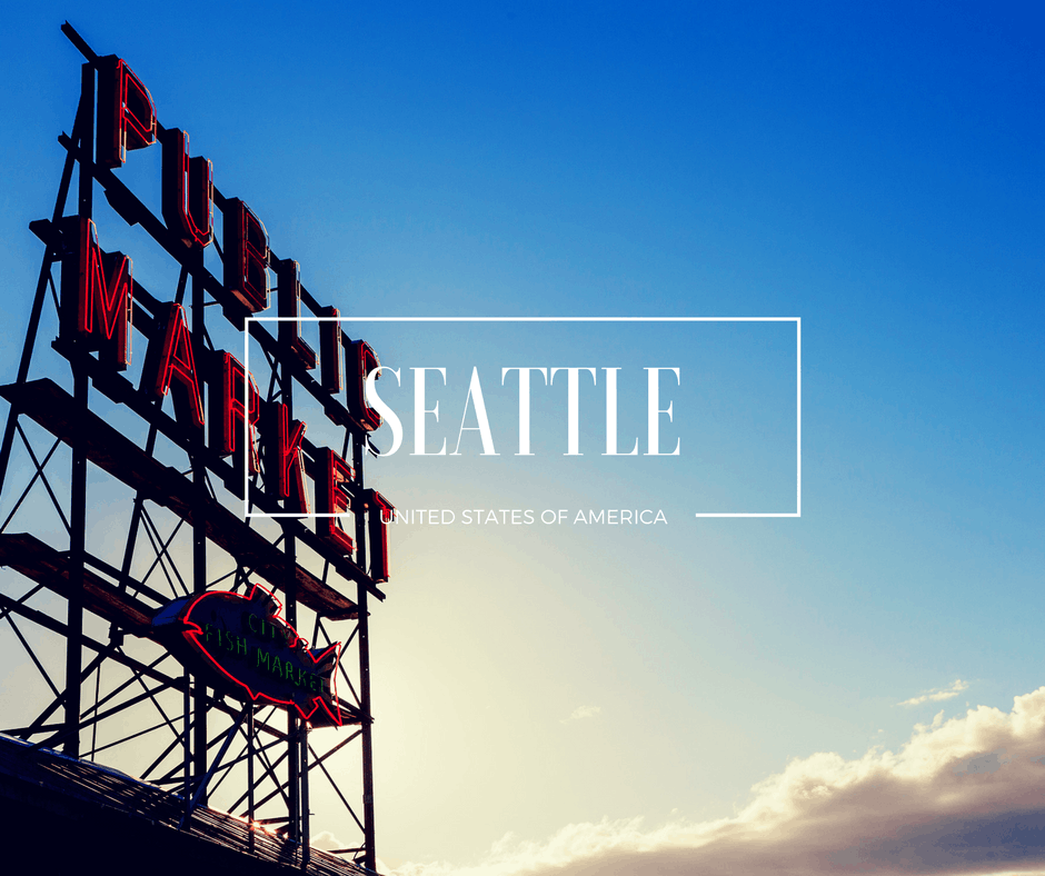 Seattle Pikes Market Travel Destination Thumbnail
