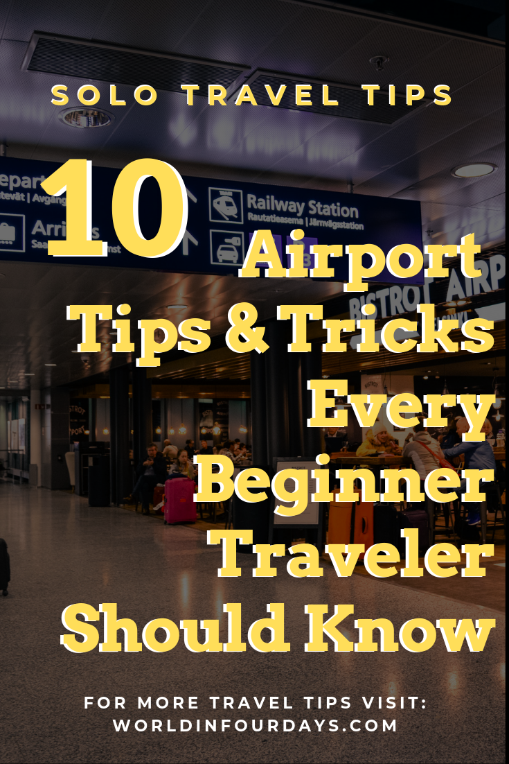 Heading out on your first solo adventure? If you've never flown before here are 10 Airport Tips And Tricks Every Beginner Traveler Should Know! These will save you time, money and your sanity. You definitely want to read these!