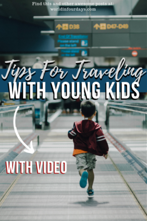 Tips For Traveling Solo With Young Kids