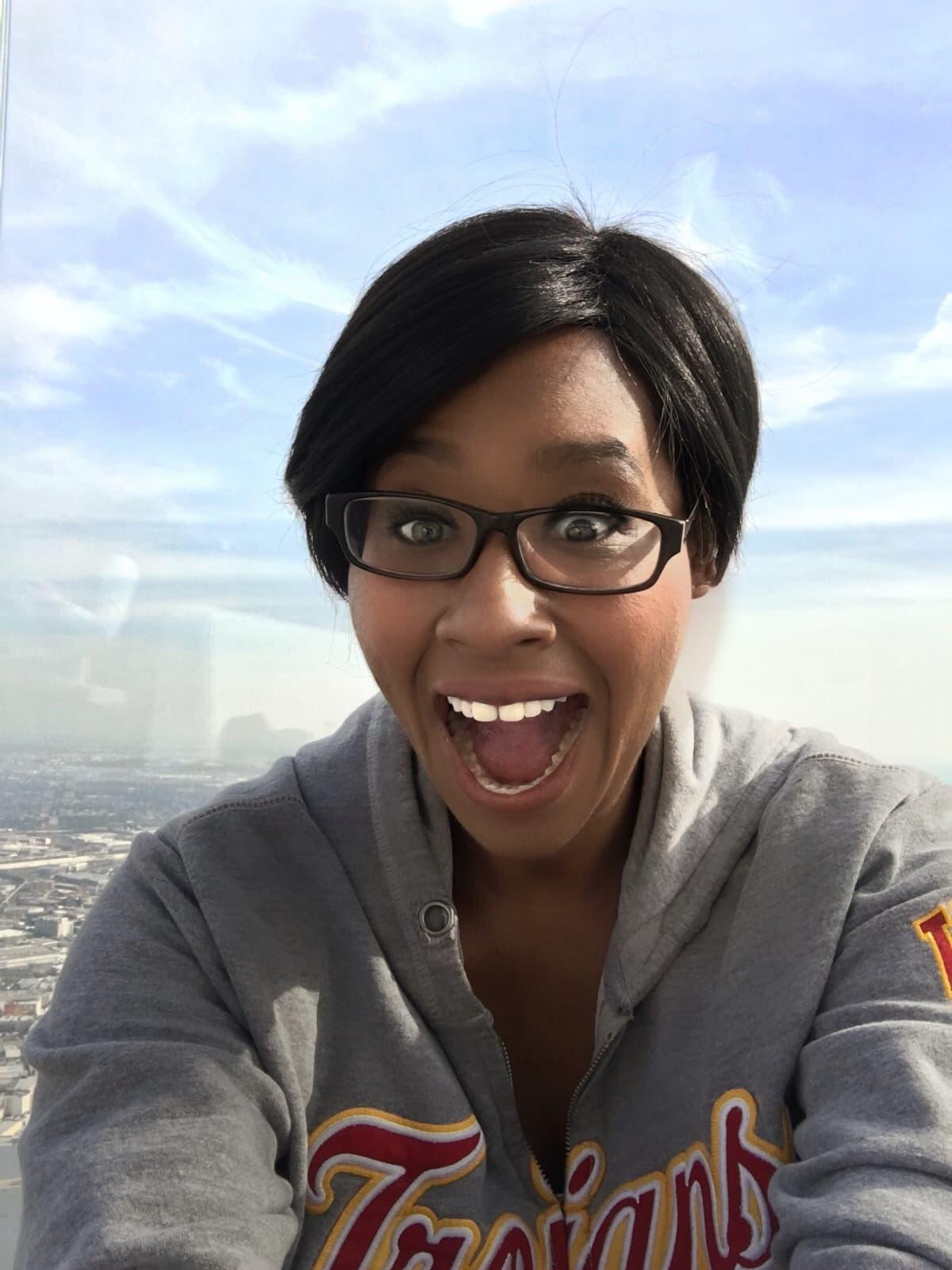 70 Floors up at Los Angeles Skyspace