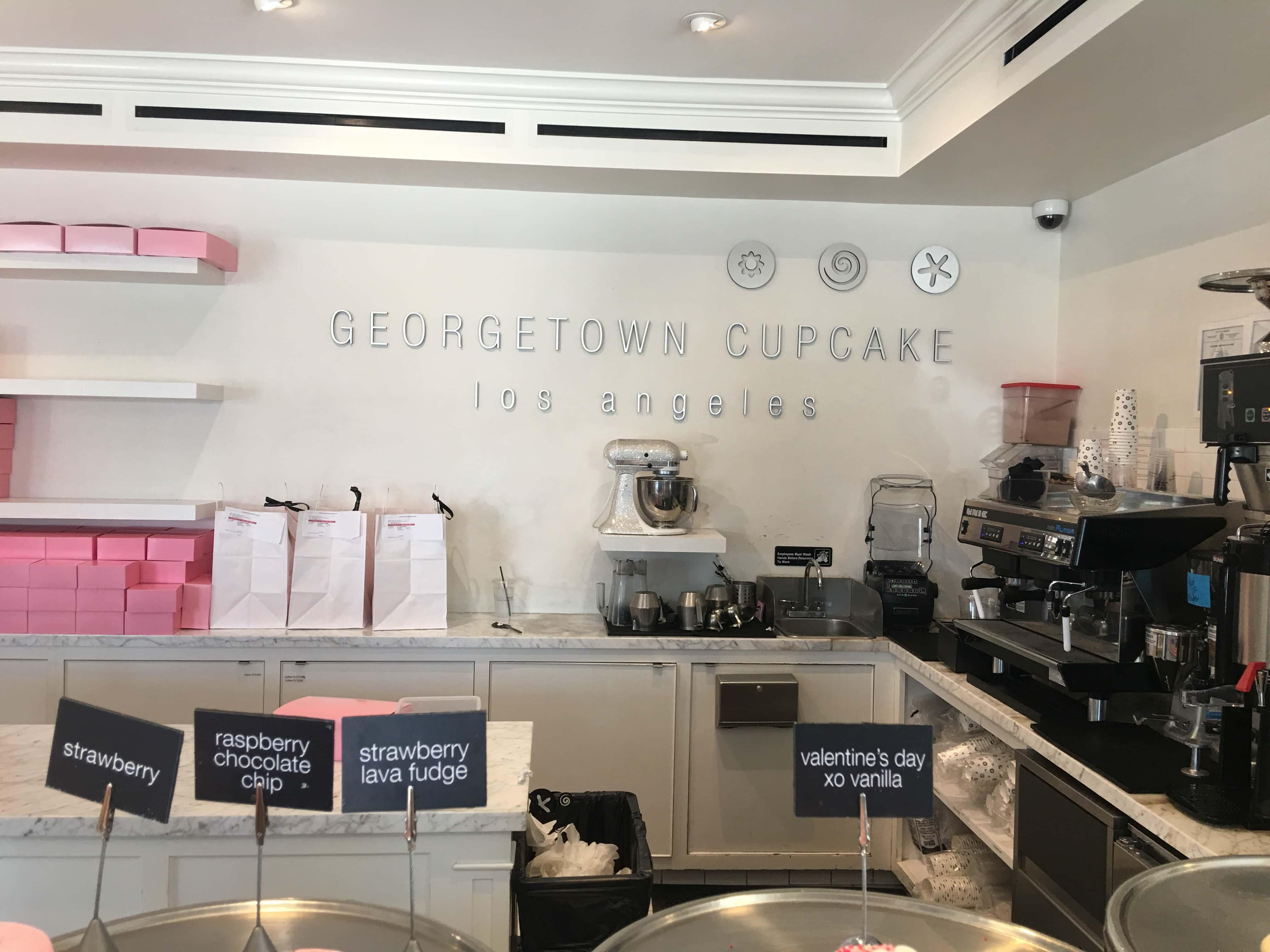 Georgetown Cupcake Shop in Los Angeles