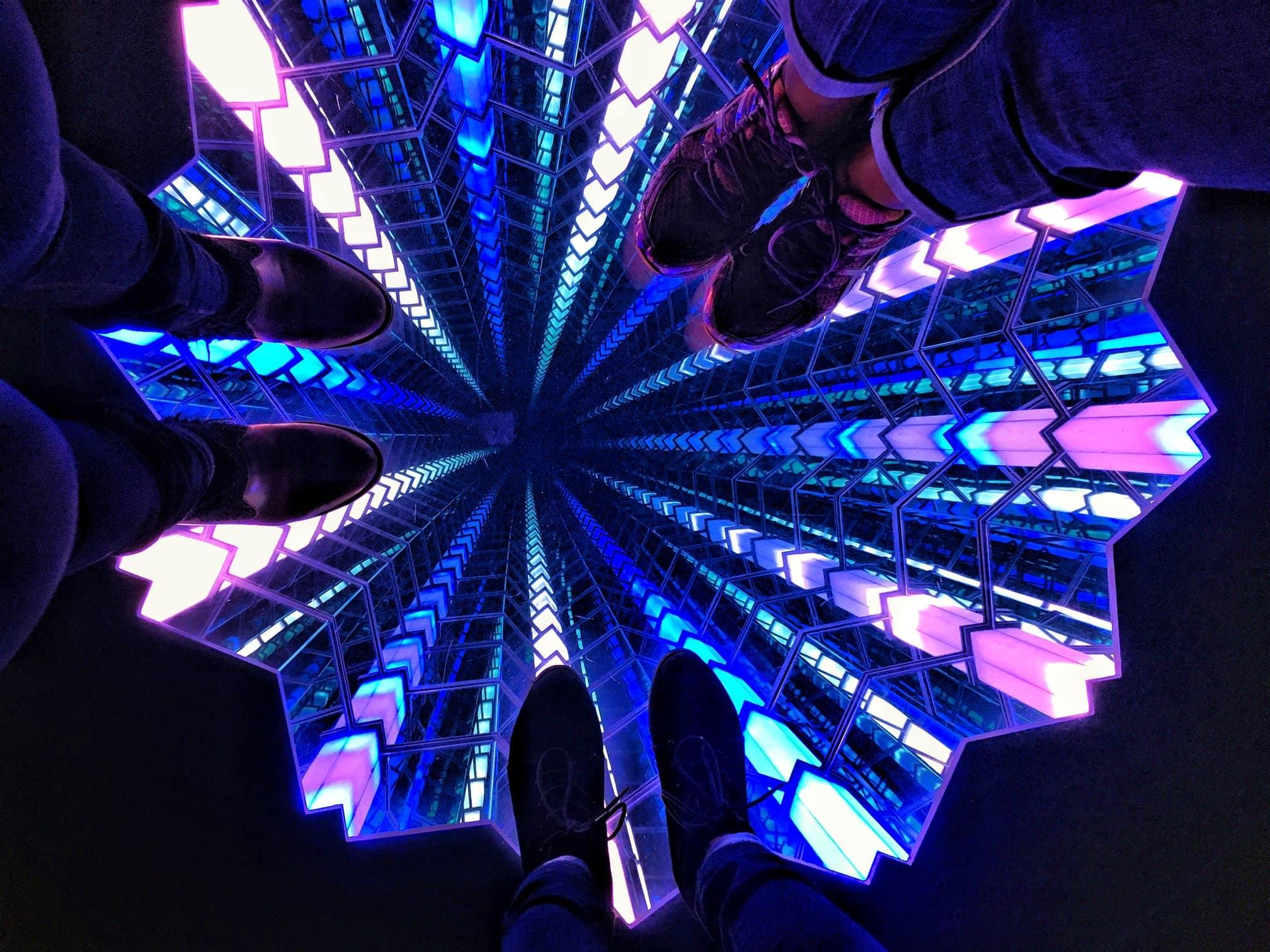 Infinity Mirror at Los Angeles Skyspace