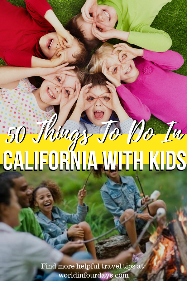 50 Things To Do In Southern California WIth Kids | Family Travel | World In Four Days