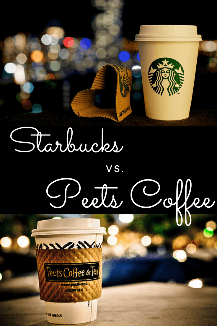 Peet's Coffee vs Starbucks