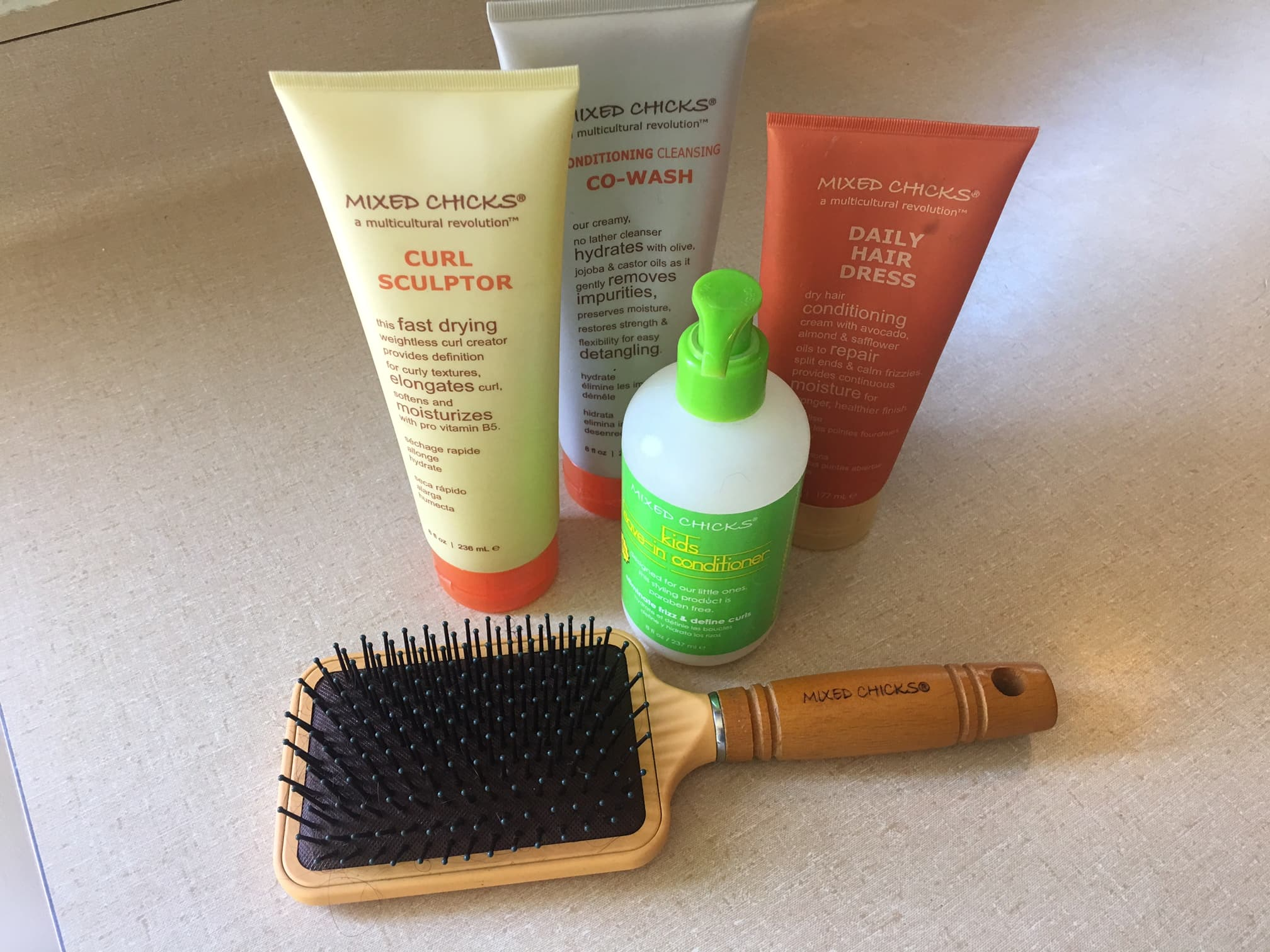 Mixed Chicks Hair Product Review