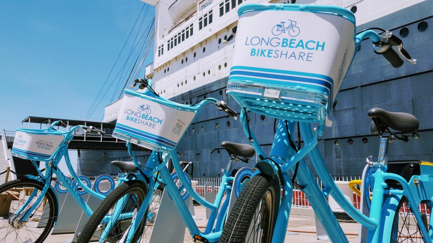 Long Beach Bike Share | World In Four Day: Visit Long Beach