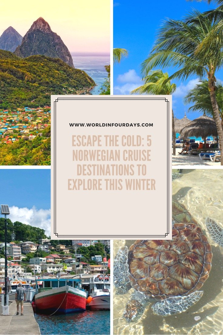 Escape The Cold: 5 Norwegian Cruise Destinations To Explore This Winter