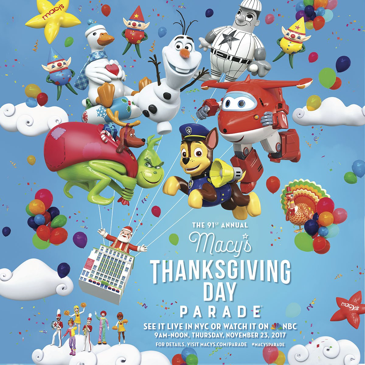 Annual Family Holiday Traditions: Macy's Thanksgiving Day Parade