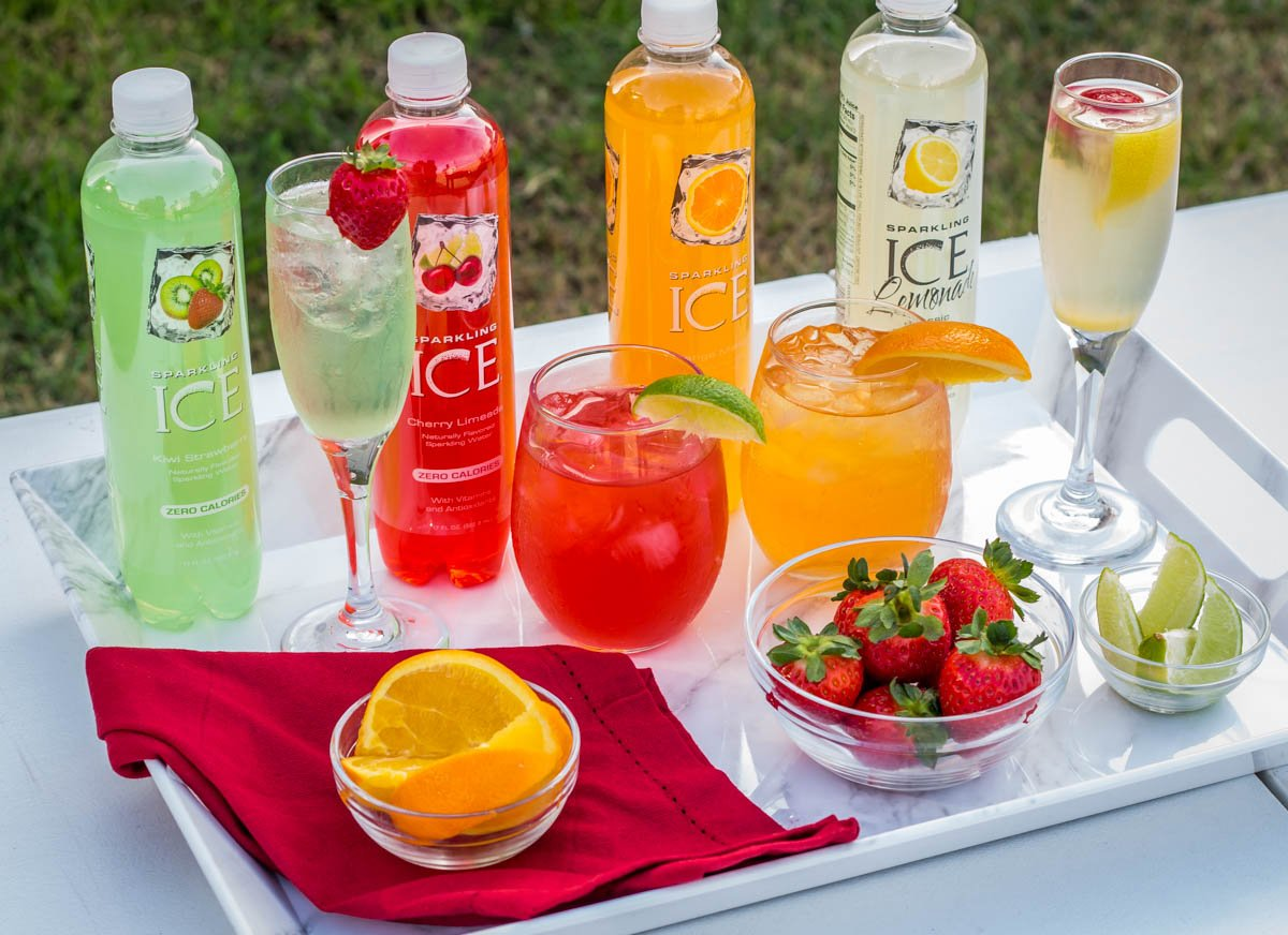 Four Super Easy Sparkling Ice Cocktails You're Sure To Love