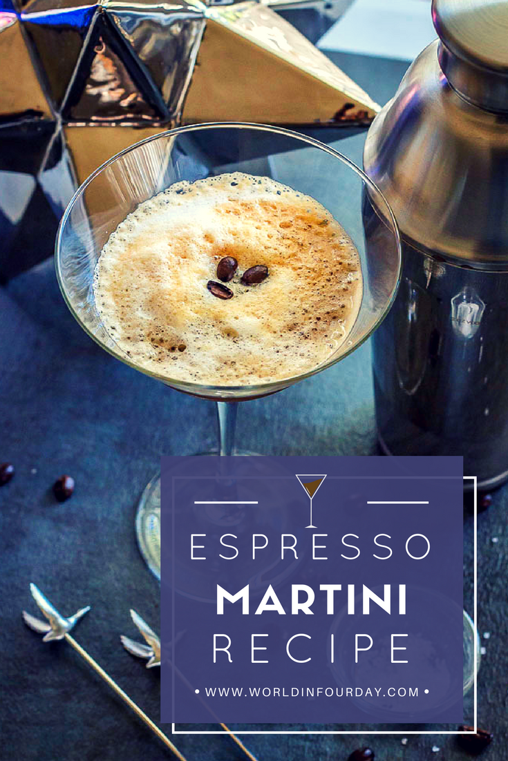 Let's toast to 5 o'clock with this Grey Goose Espresso Martini. Now that's a celebration!