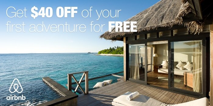 Airbnb $40 off Coupon