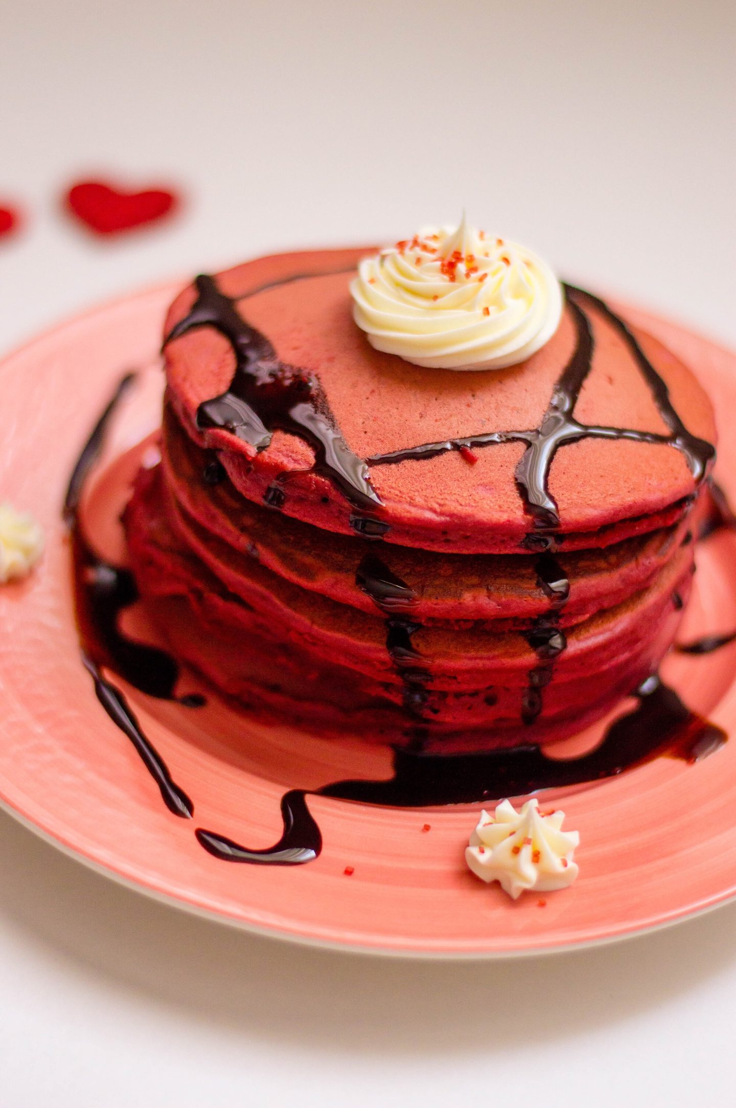A Valentine's Breakfast You'll Love: Red Velvet Pancake Recipe