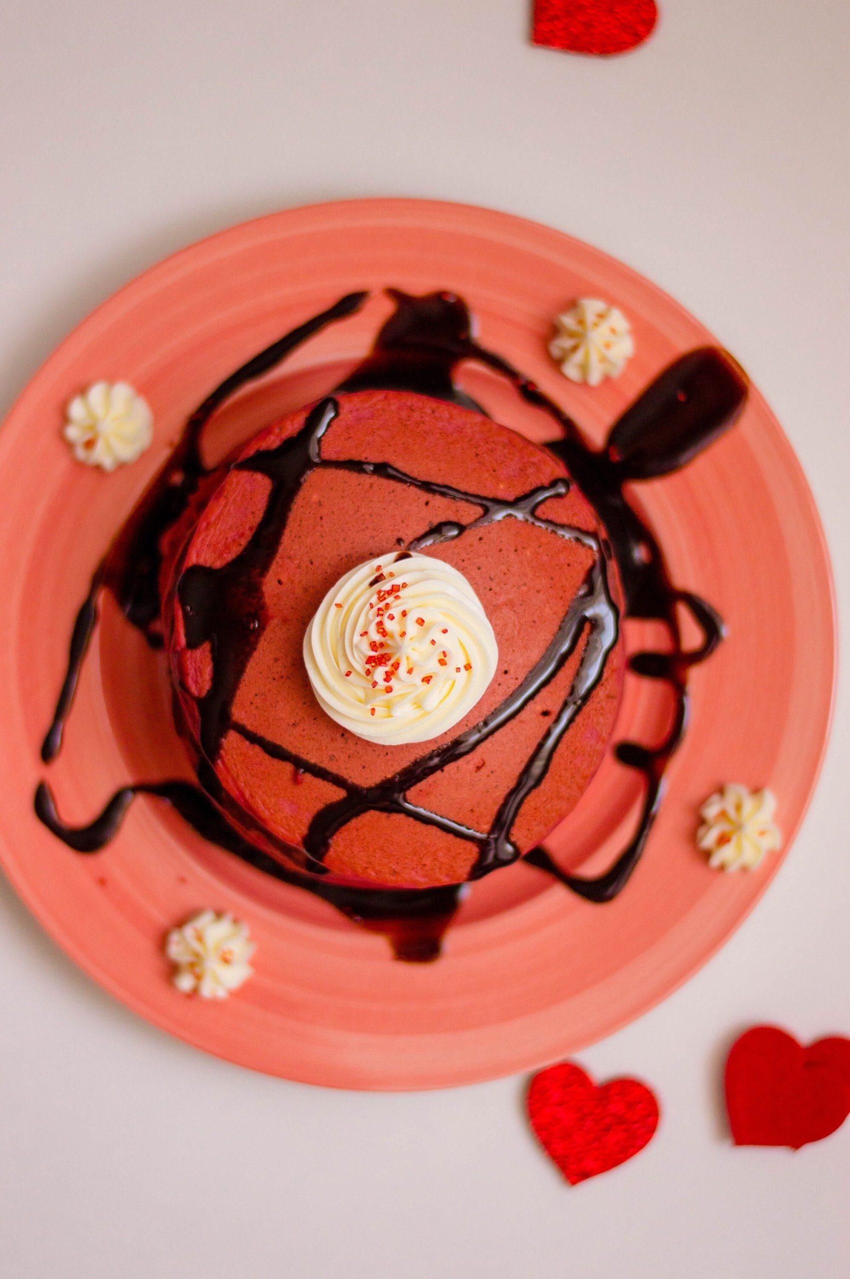 Red Velvet Pancake Recipe