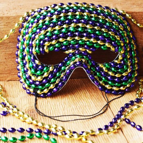Mardi Gras / Masquerade Ball DIY Mask