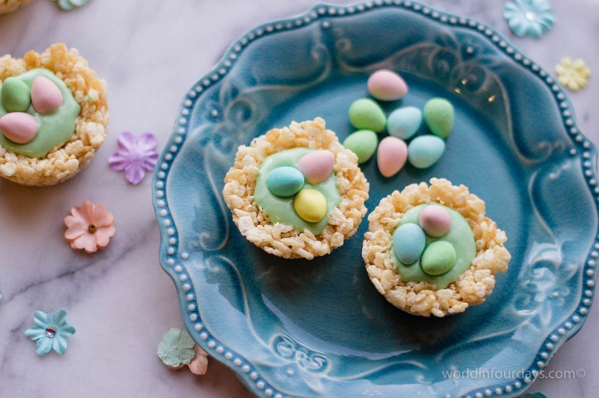 Rice Krispy Nests Recipe: Perfect For Baby Showers & Spring