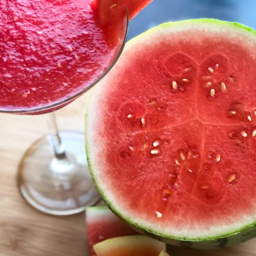 Frozen Watermelon Cocktail Recipe Featuring Absolut Vodka