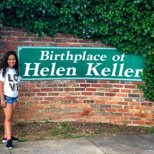 Historical Travel For Kids – The Helen Keller House Tour