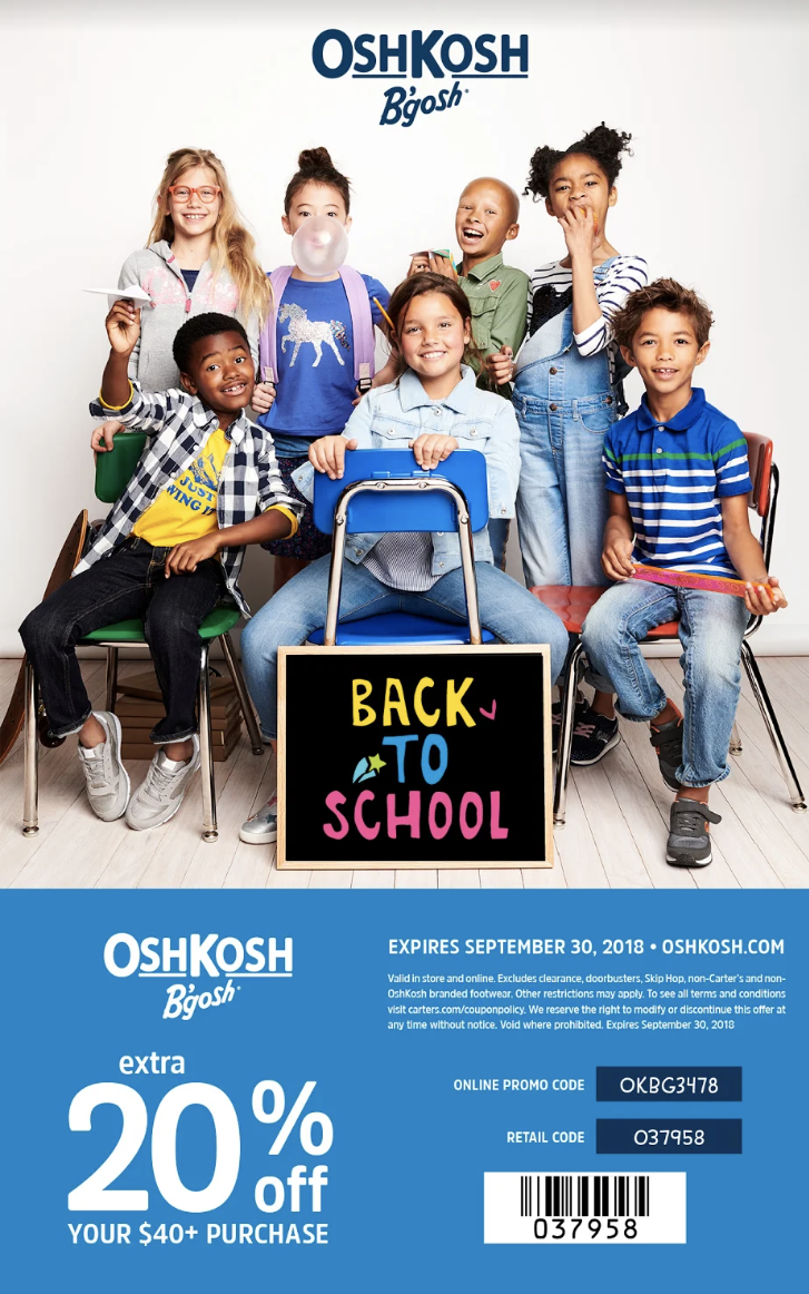 Back to school with OshKosh B'gosh - World in Four Days
