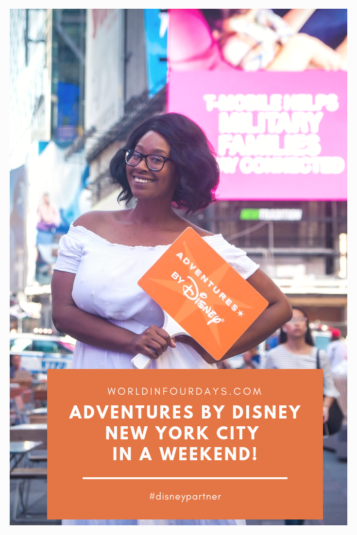 We're HUGE fans of anything and everything Disney so when I got invited to combine my two favorite things into one trip (Disney and New York), I did backflips on my living room. If you also love New York and Disney you're going to want to read this post Adventures by Disney New York City In A Weekend.