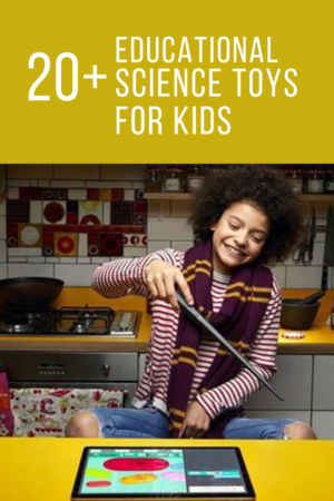 Reese loves science and I'm a firm believer that the best way to learn science is hands on. That's why this year I'm stocking up on hands-on science kits and toys. If your child loves science and your're looking for Educational Science Toysfor Kids check out this list of 20+ science toys for kids.