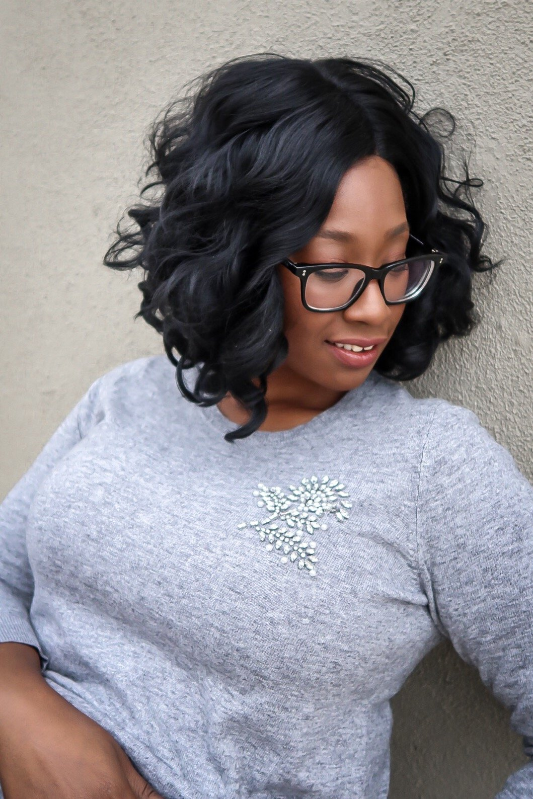 Heather Gray embellished sweater from The Loft If you're like many, you probably haven't started your holiday shopping. Stores shelves are about to be bare and crowds are everywhere but don't stress. Here are 5 Simple Tips For Surviving Last Minute Holiday Shopping.