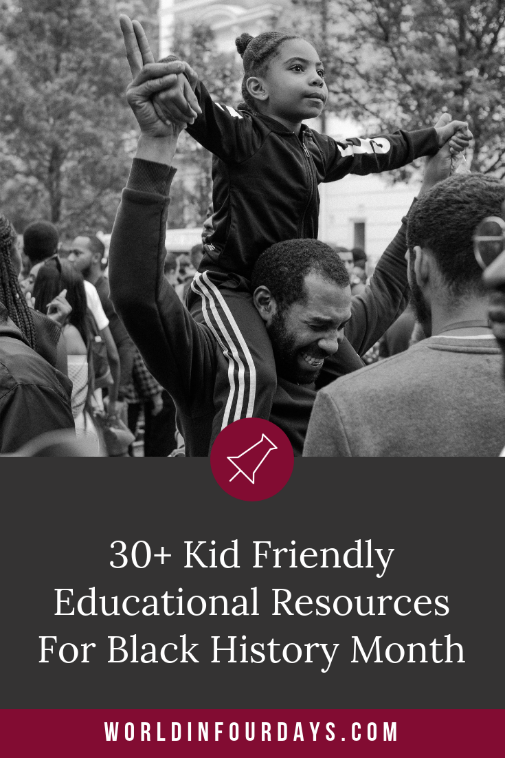 Black History Month is in full swing and if you're looking for resources for Black History Month you'll want to bookmark this post. Whether your school Black History curriculum is lacking or you have a kid who just can't get enough, here is a list of vetted and reliable websites.