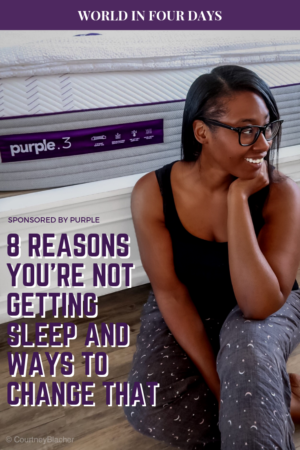 8 Reasons You're Not Getting Enough Sleep Plus TIps On How To Change That.