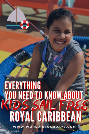 Some of the best times to sail with Royal Caribbean is during their Kids Sail Free Royal Caribbean. This is the best Royal Caribbean sale and we're sharing how to grab this awesome deal and why you don't want to miss it.