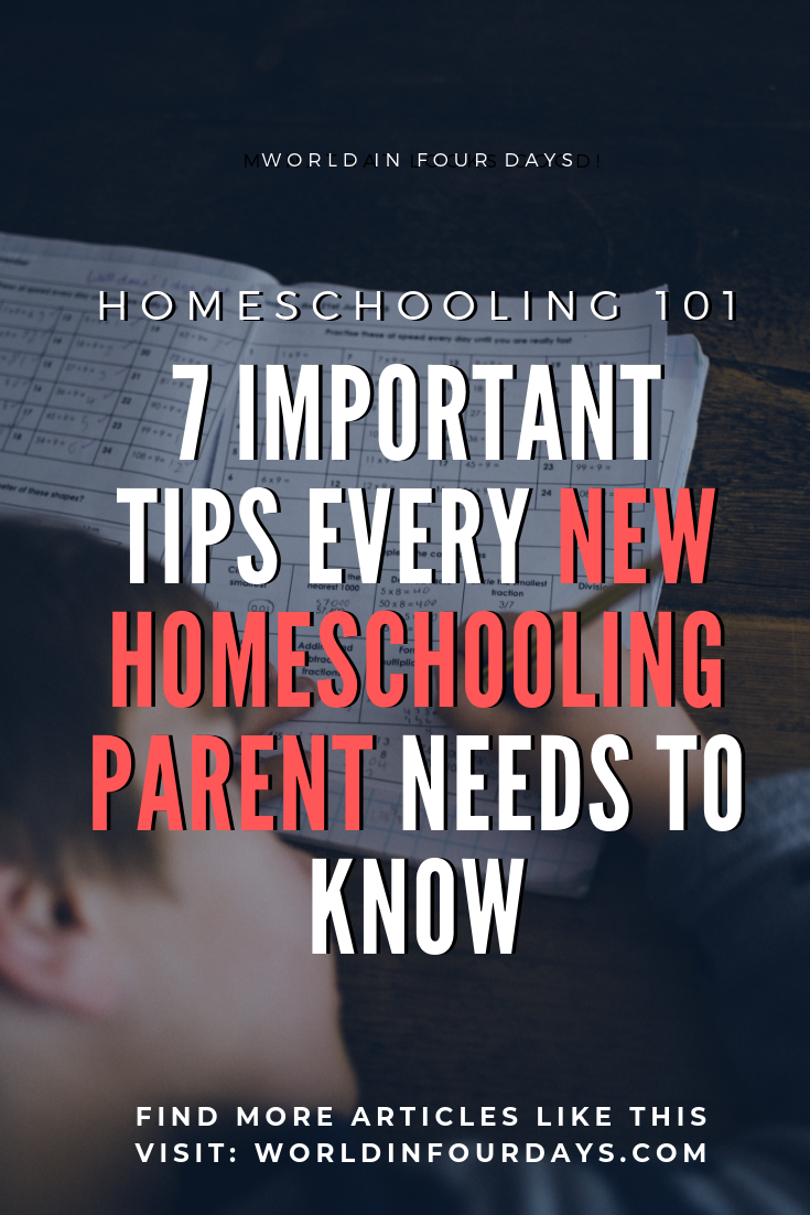 Homeschooling your kid is an important responsibility and can also be stressful for the new homeschooling parent. If you are new to or considering homeschooling check out these 7 every new homeschooling parents