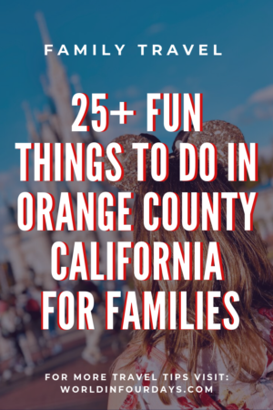 There's no end to fun things to do in Orange County. From historical sites to massive shopping complexes, Orange County has something for everyone.